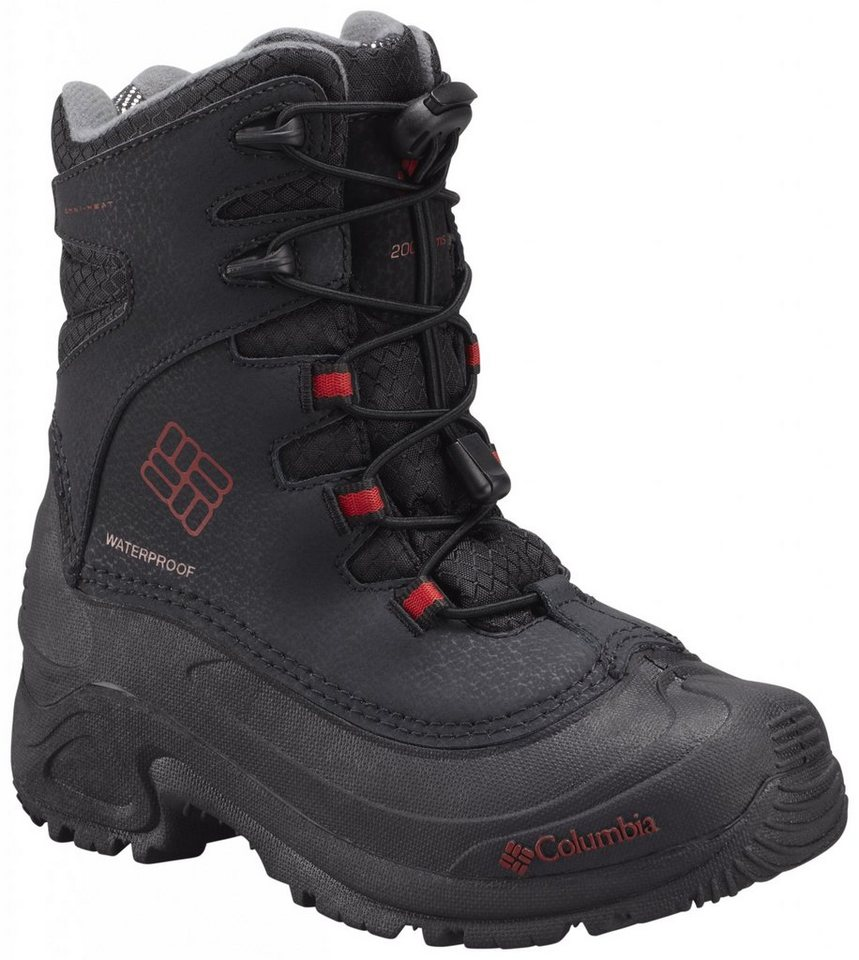 Columbia Stiefel »Bugaboot Plus III Boots Youth Omni-HEAT« in schwarz