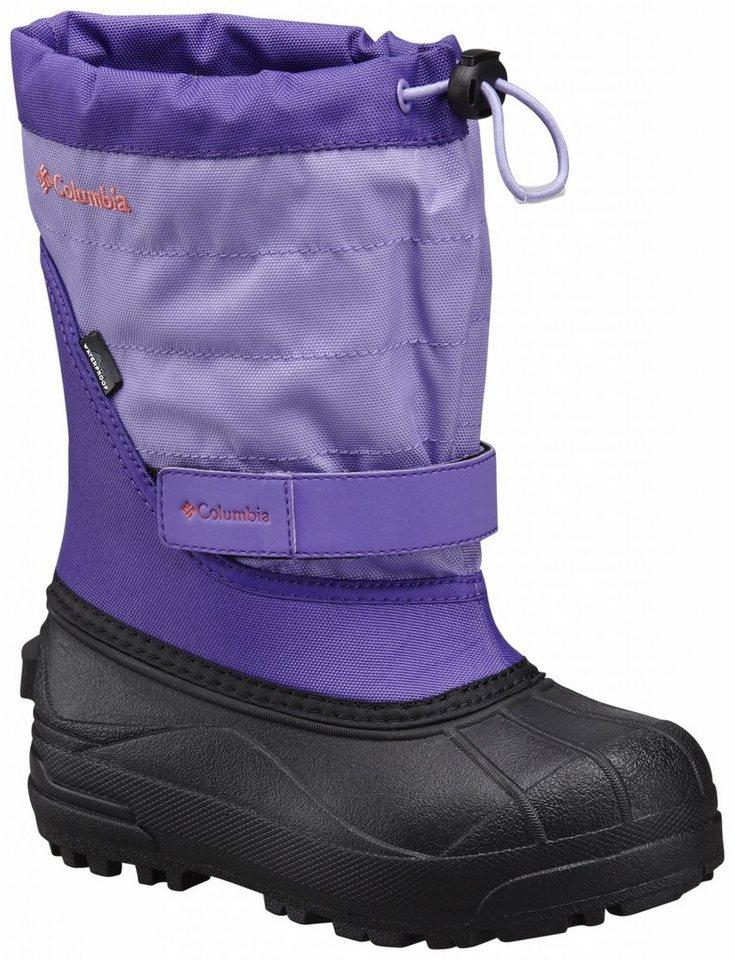 Columbia Stiefel »Powderbug Plus II Boots Youth« in lila