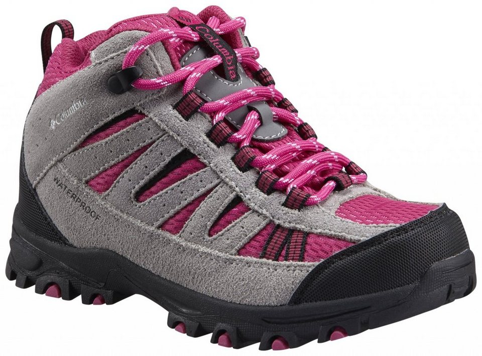 Columbia Kletterschuh »Pisgah Peak Shoes Youth Mid WP« in beige