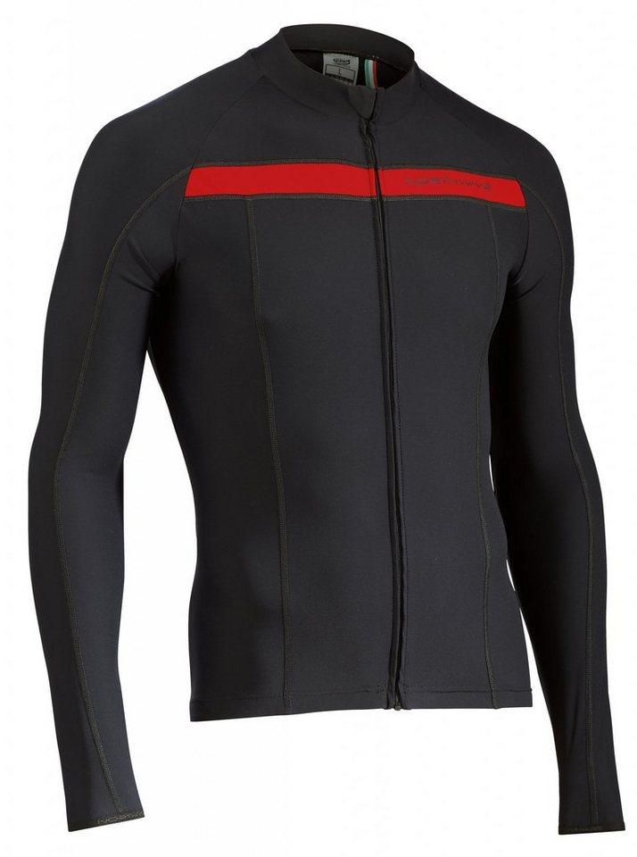 Northwave Radtrikot »Celsius LS Jersey Men« in schwarz