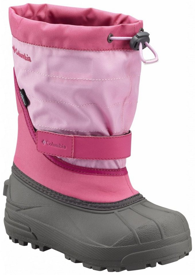 Columbia Stiefel »Powderbug Plus II Boots Youth« in pink