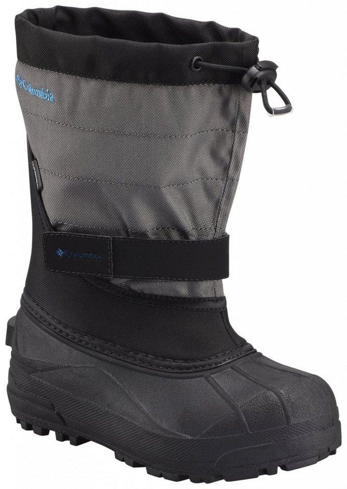 Columbia Stiefel »Powderbug Plus II Boots Youth« in schwarz