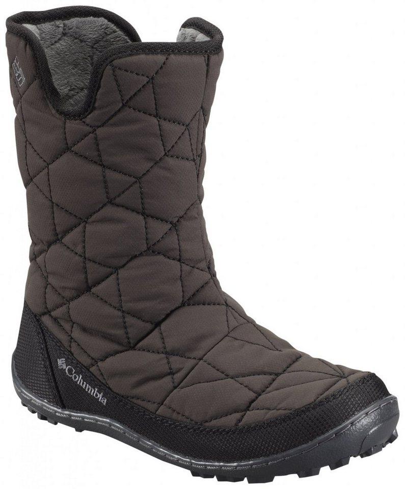 Columbia Stiefel »Minx Slip Boots Youth WP Omni-HEAT« in braun