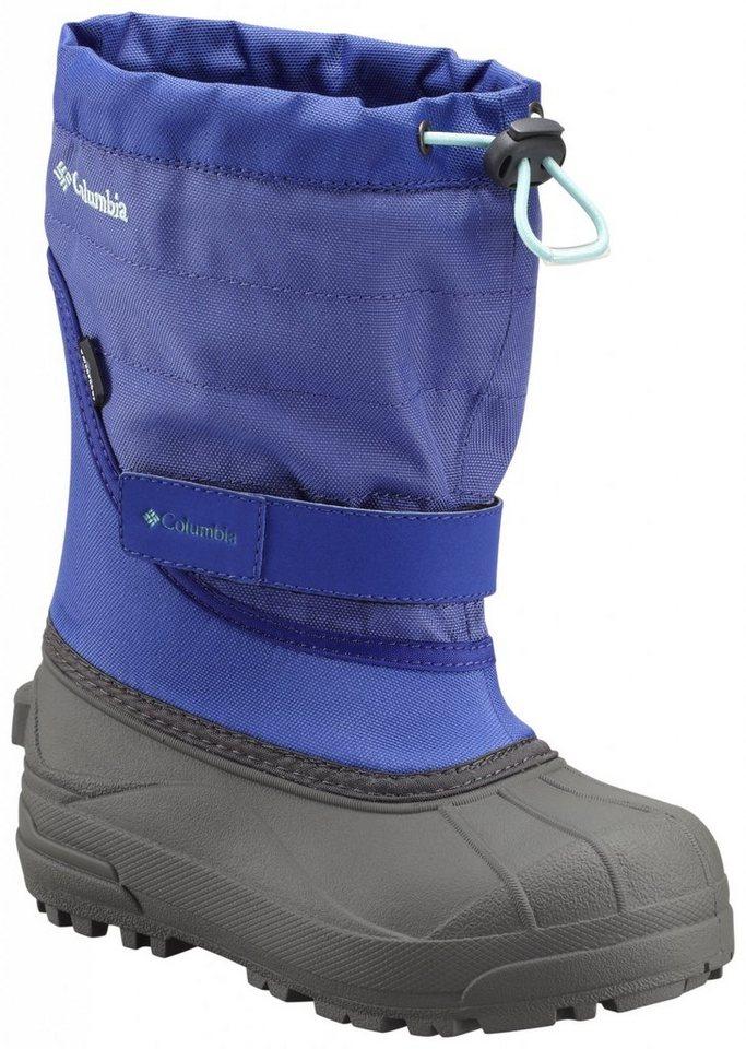 Columbia Stiefel »Powderbug Plus II Boots Youth« in blau