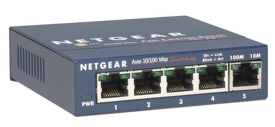 Netgear Switch »PROSAFE 10/100 5-PORT SWITCH«