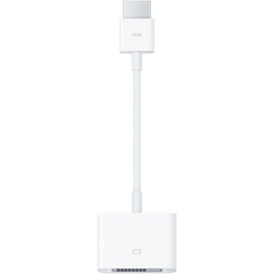 Apple Kabel »HDMI auf DVI Adapter weiß«