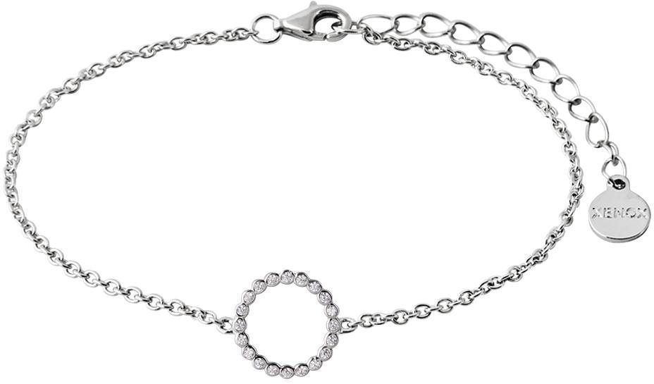 XENOX Armband »Happy Hour, XS2934« mit Zirkonia in Silber 925