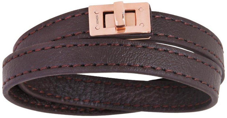 XENOX Armband »X2487R« in braun
