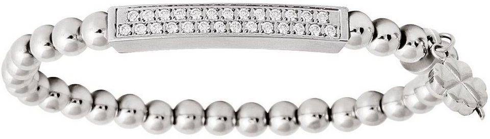 XENOX Armband »X2539« mit Zirkonia in silberfarben