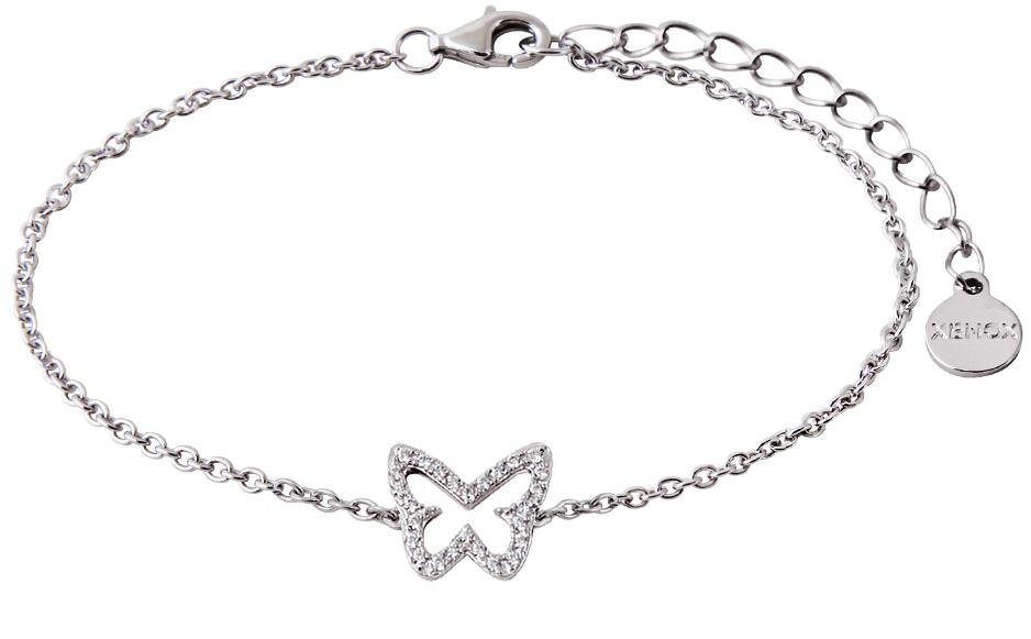 XENOX Armband »Happy Hour, XS2933« mit Zirkonia in Silber 925