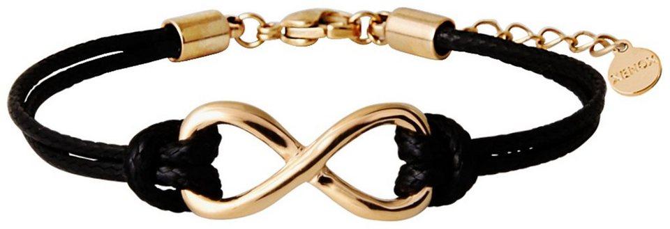 XENOX Armband »X2543G« in goldfarben-schwarz