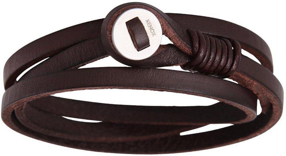 XENOX Armband »X2560« in braun