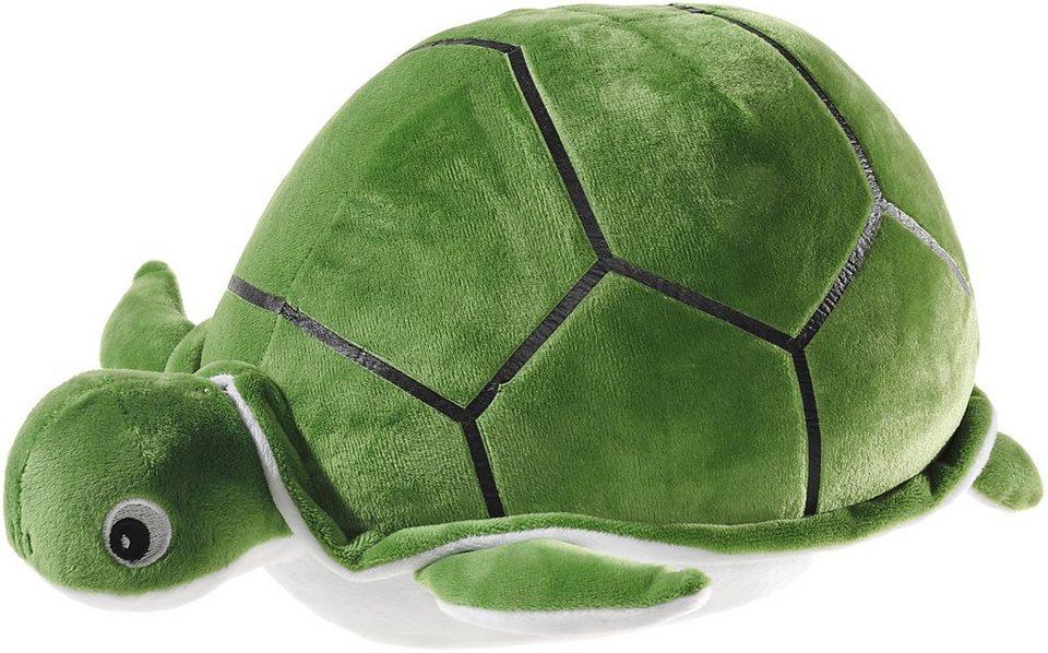 Heunec Kuscheltier, »Schildkröte rund 32 cm« in grün