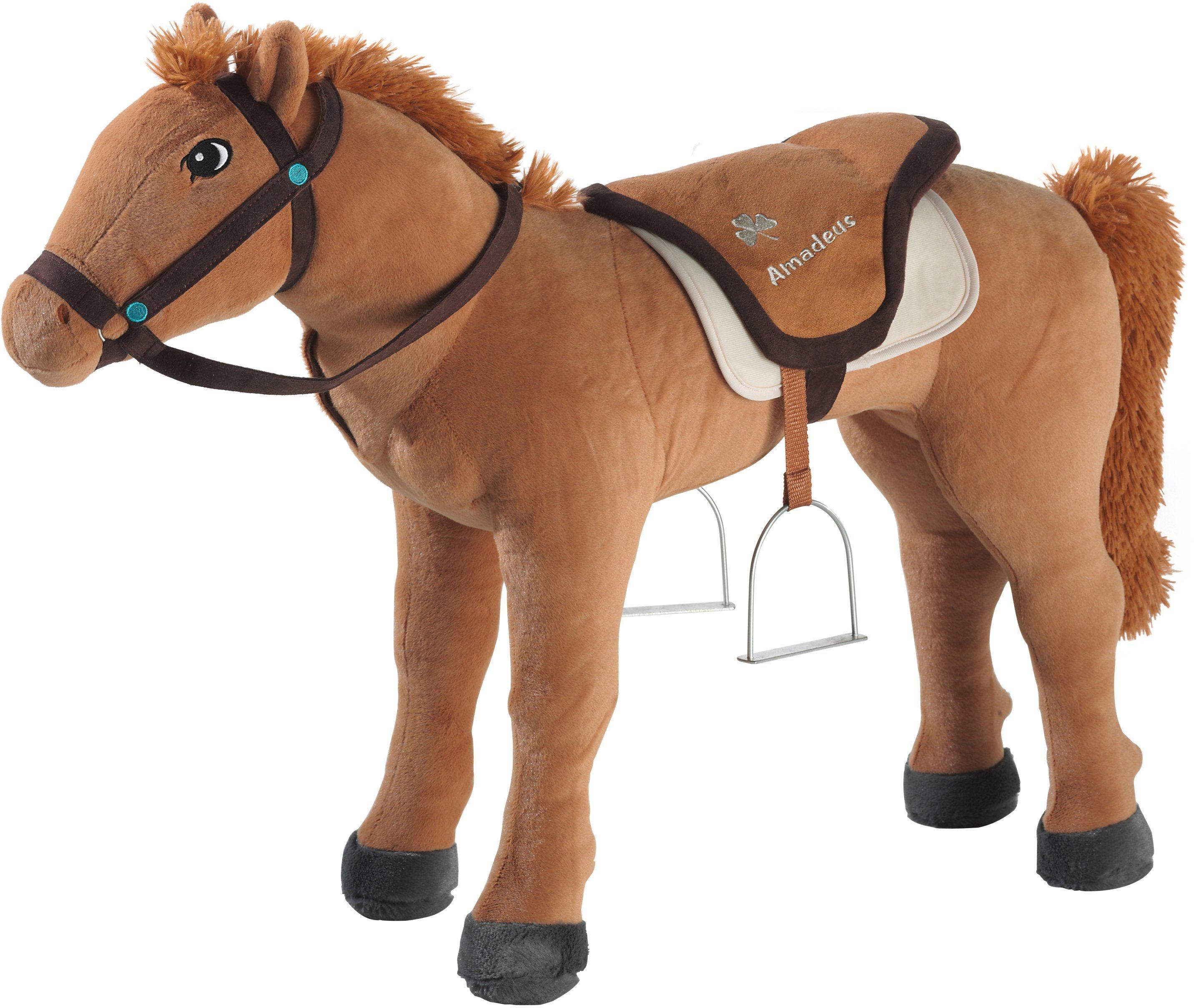 preisvergleich bibi tina pferd pl sch amadeus stehend 75 cm hoch willbilliger. Black Bedroom Furniture Sets. Home Design Ideas