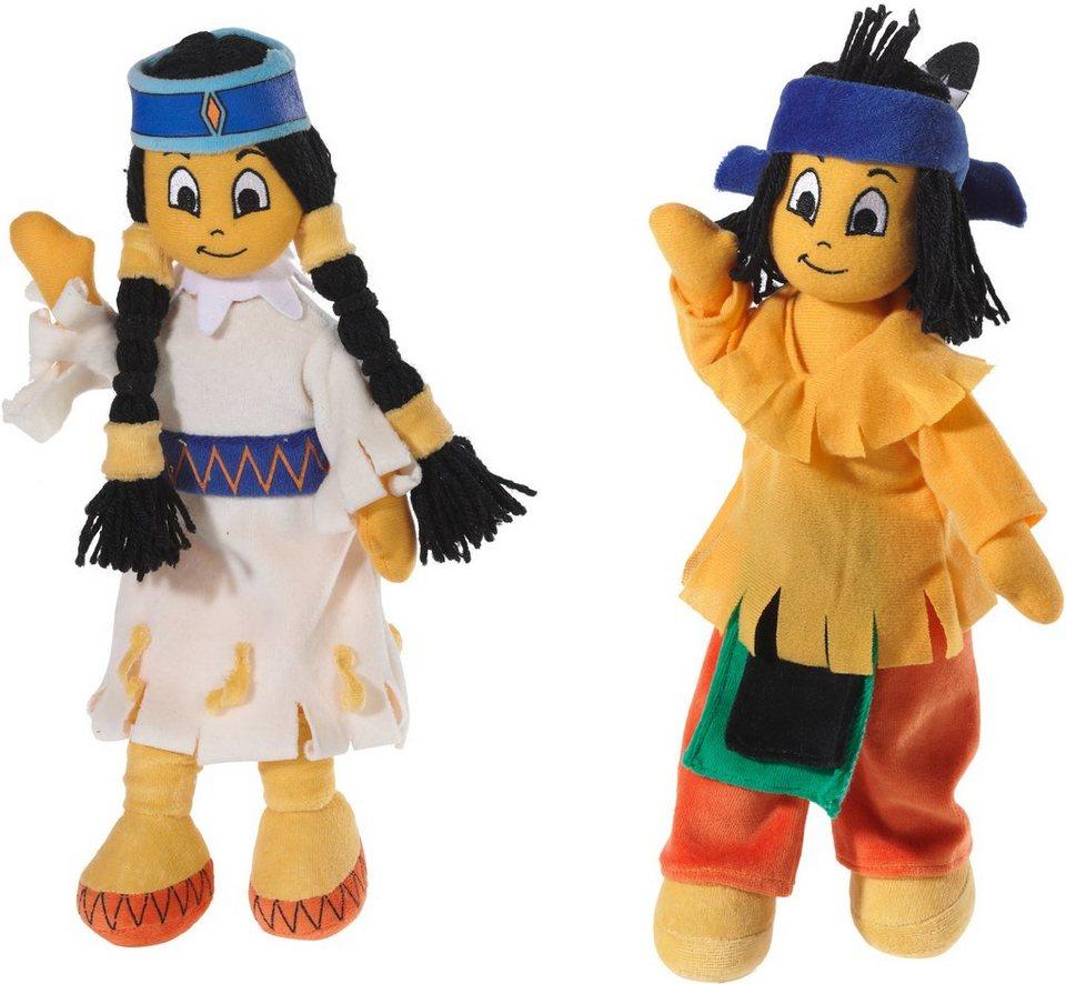 Heunec Puppenset, »Yakari Indianermädchen und Indianerjunge«