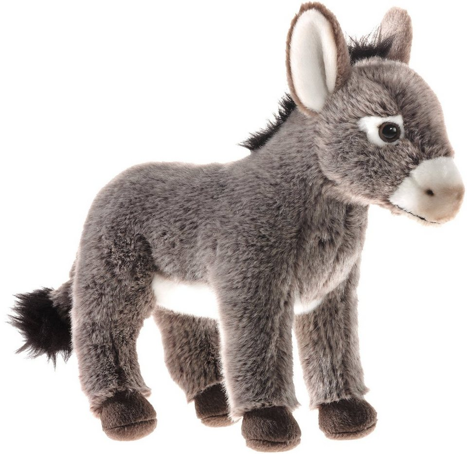 Heunec Kuscheltier, »Streichelzoo Esel« in grau