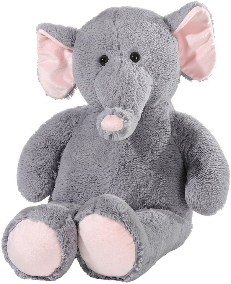 Heunec Kuscheltier, »Elefant schlenkernd 80 cm« in grau