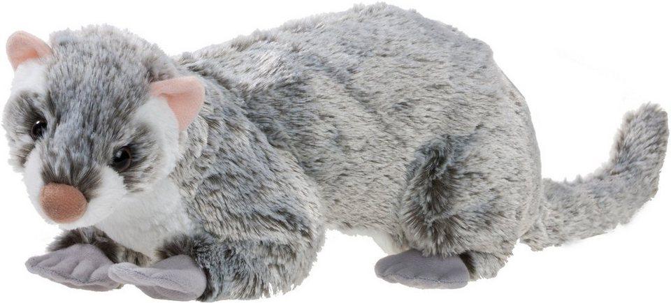 Heunec Kuscheltier, »Softissimo Frettchen« in grau/weiß