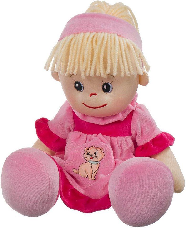 Heunec Stoffpuppe, »Poupetta Liesel mit blondem Haar 50 cm«
