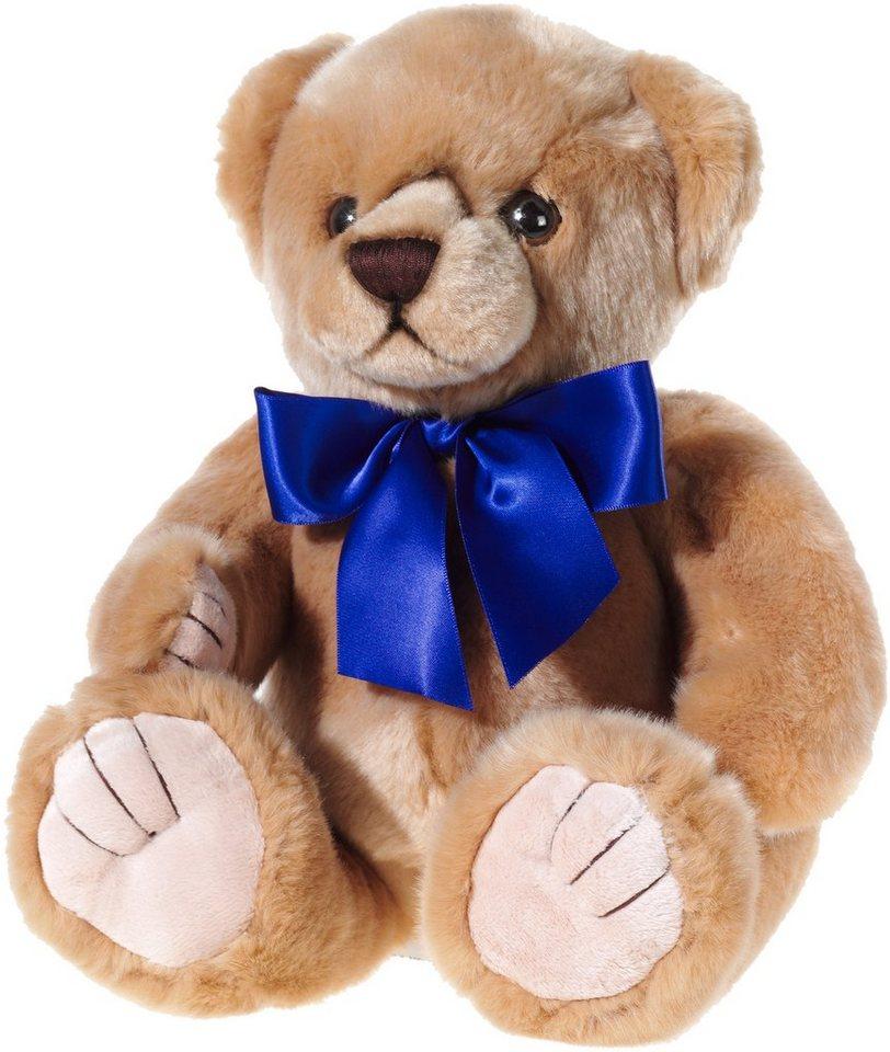 Heunec Plüschteddy mit blauer Schleife, »Mi Classico Bär« in braun