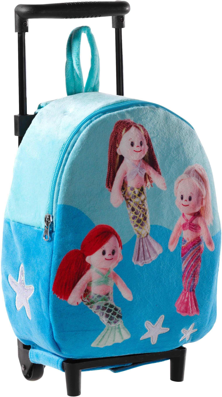 Heunec Kinderkoffer mit Meerjungfrauen, »Trolley Mermaids«
