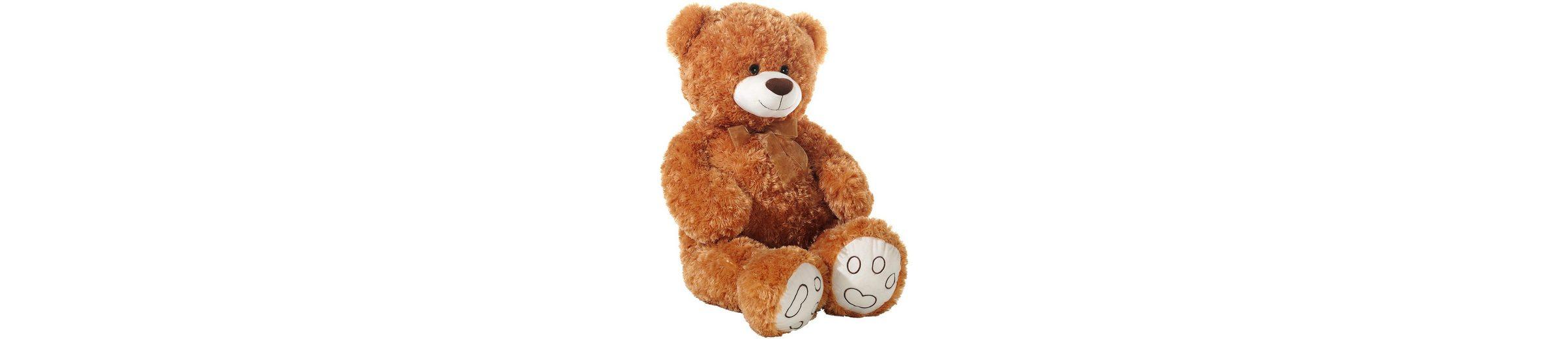 Heunec Schlenkerteddy mit Schleife, braun, »Bär«