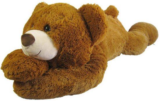 Heunec® Kuscheltier »Bär liegend XL hellbraun«