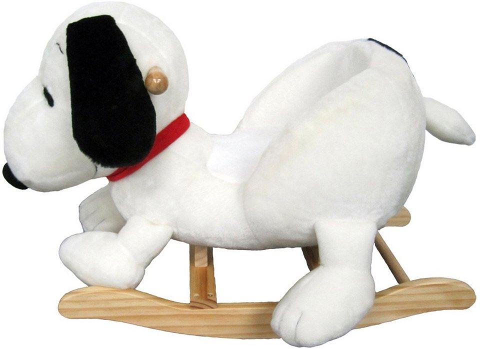 Heunec Schaukeltier, »Snoopy Schaukel 65 cm« in weiß