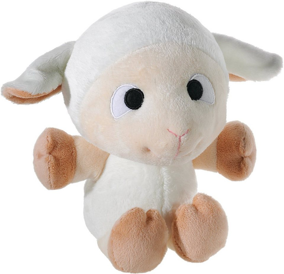Heunec Kuschelbär, »Friendsheep Friendship Gang Schaf Wolly 28 cm« in creme