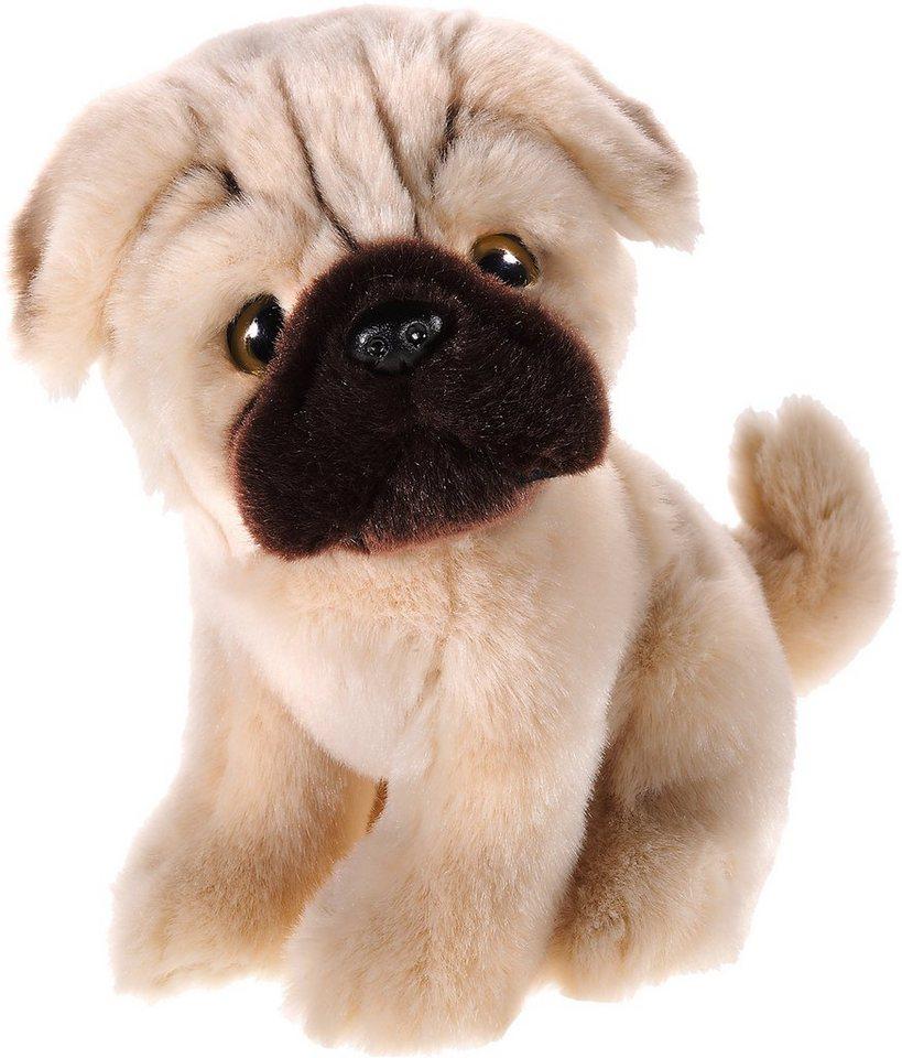 Heunec Plüschhund, »Mi Classico, Mops Truffles« in beige