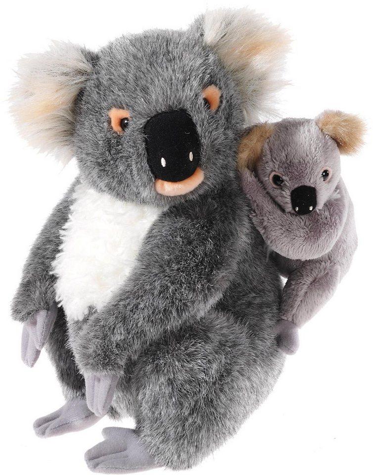 Heunec Kuscheltier, »Mi Classico, Koala Bär mit Baby« in grau