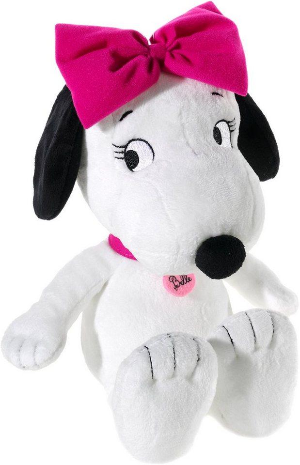 Heunec Plüschhund, »Peanuts Belle« in weiß