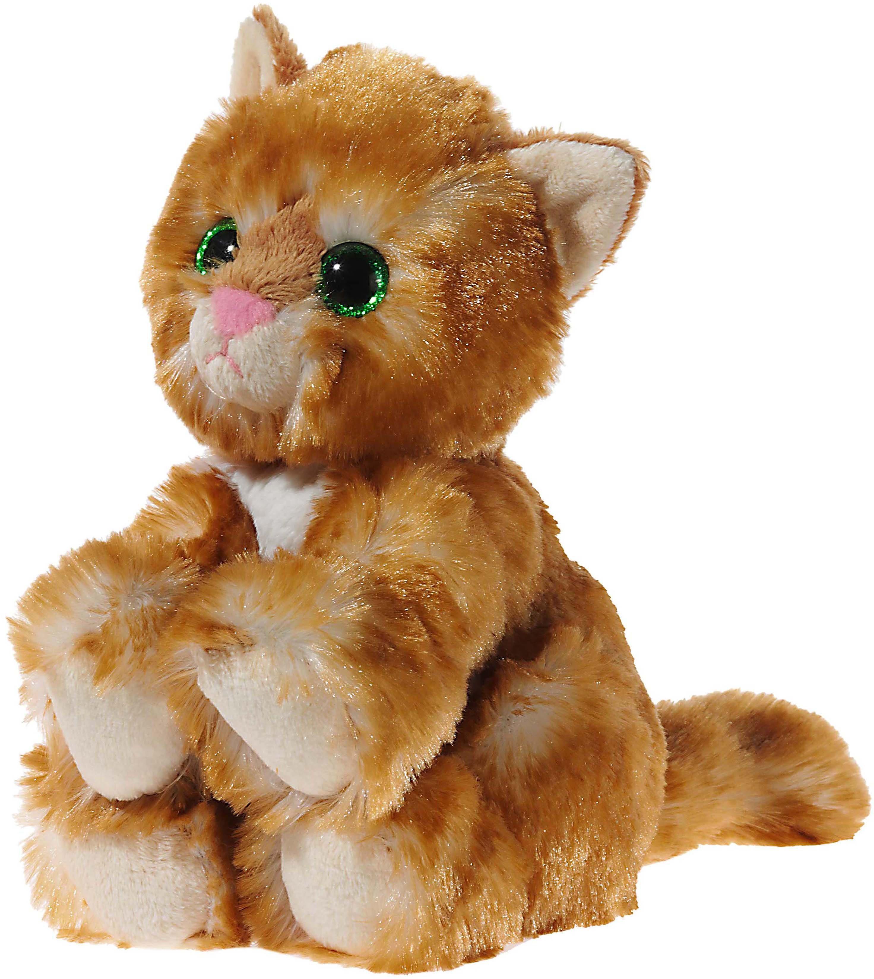 Heunec Kuscheltier, »Glitter Kitty Katzenbaby Gold, 24 cm«