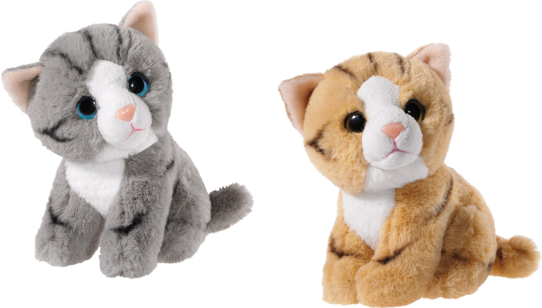 Heunec Set bestehend aus 2 Plüschtieren, »Mini Mi Katzen Set«