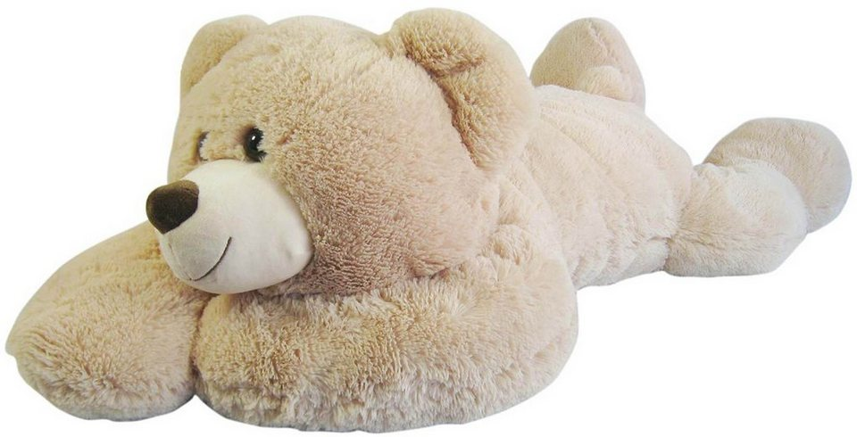 Heunec Plüschteddy, »Bär liegend XL beige« in beige