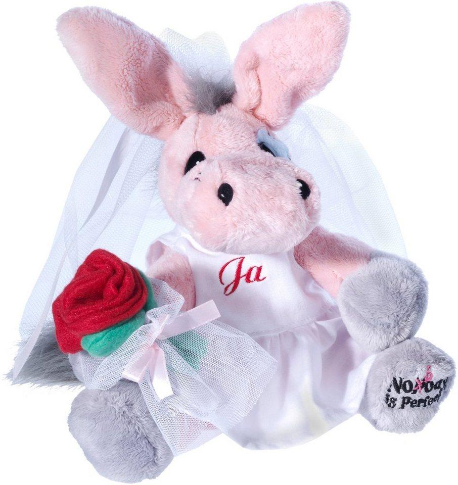 Heunec Plüschesel, »My little Murphy Murphy will Mar( e )y - die perfekte Braut« in pink