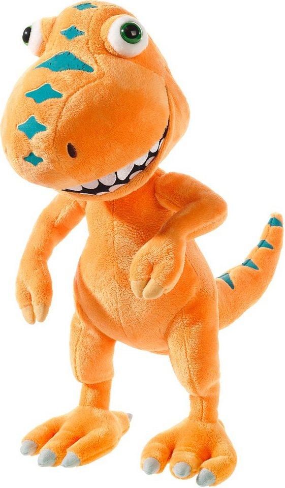 Heunec Plüschfigur, »Dinozug Buddy« in orange
