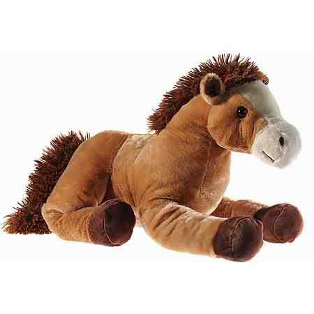 Heunec Kuscheltier, »Pferd liegend 62 cm braun«