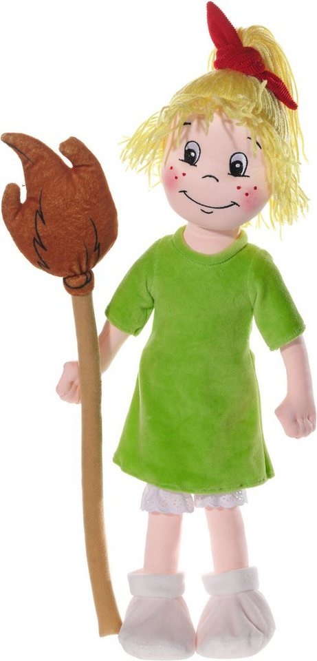 Heunec Stoffpuppe, »Bibi Blocksberg Puppe 50 cm« in grün