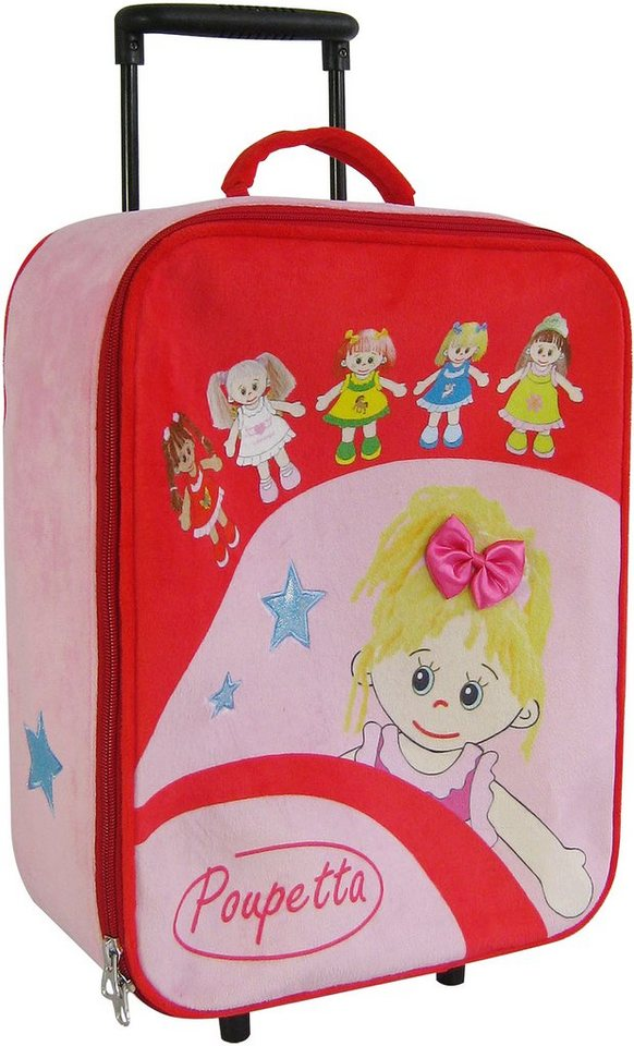 Heunec Kinderkoffer mit Puppenmotiven, »Poupetta Trolley«