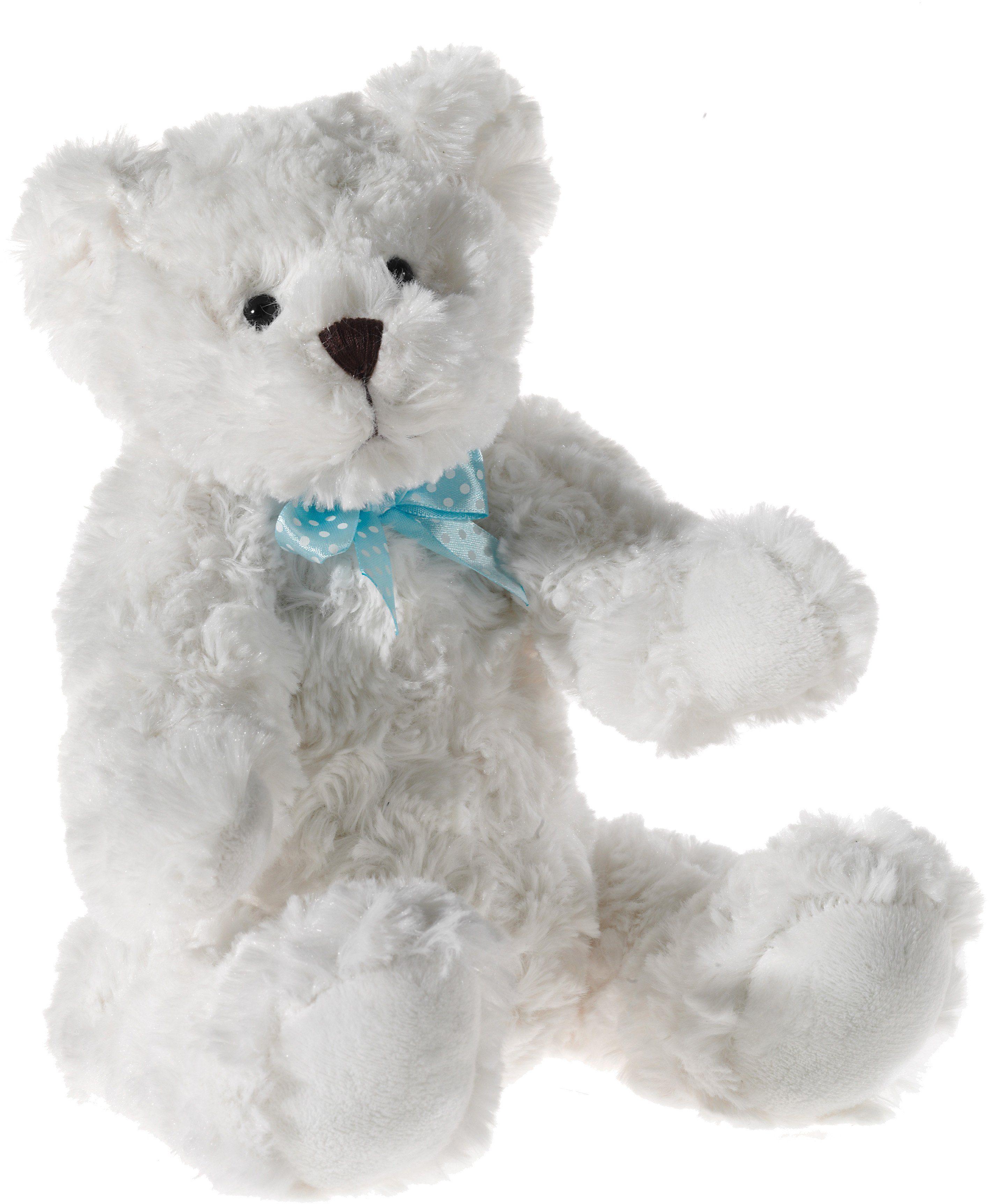 Heunec Teddy mit Brummstimme, weiss, »Scheibenbär«