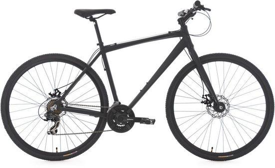 KS Cycling Urbanbike »UBN77«, 21 Gang Shimano Tourney Schaltwerk, Kettenschaltung