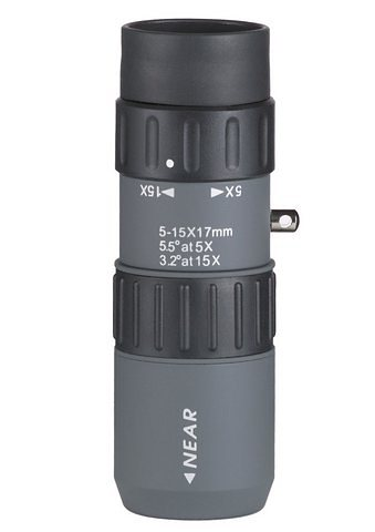 Monokular, Luger, »MZ 5-15x17« in grau