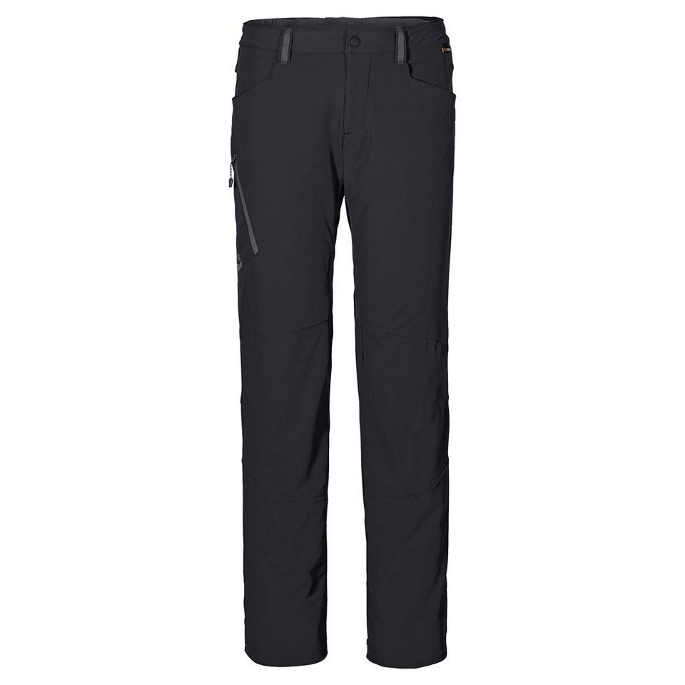 Jack Wolfskin Softshellhose »ACTIVATE 3IN1 PANTS MEN« in black