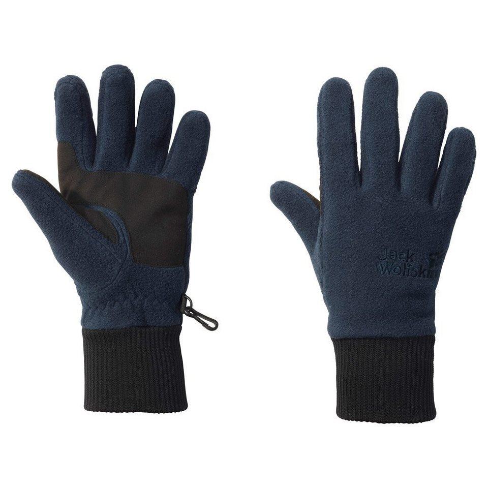 Jack Wolfskin Fleecehandschuhe »VERTIGO GLOVE« in night blue
