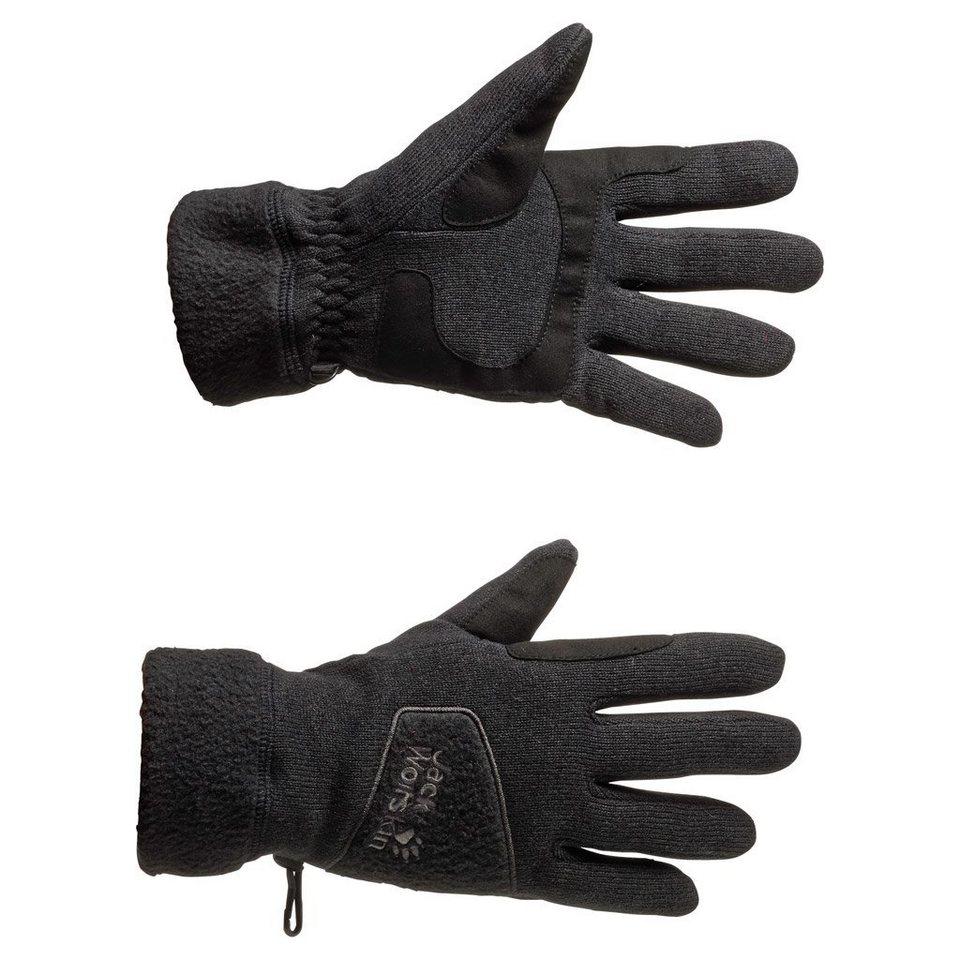 Jack Wolfskin Fleecehandschuhe »CARIBOU GLOVE« in black