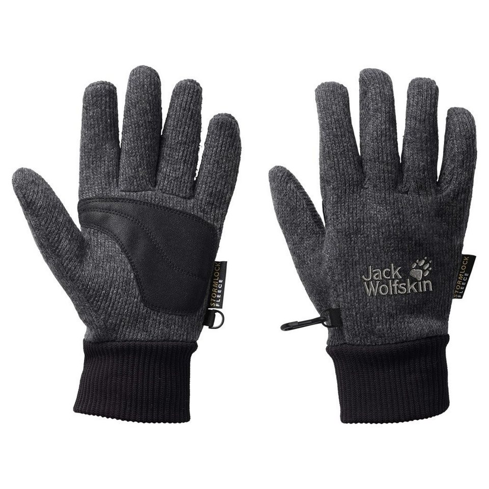Jack Wolfskin Fingerhandschuhe »STORMLOCK KNIT GLOVE« in phantom