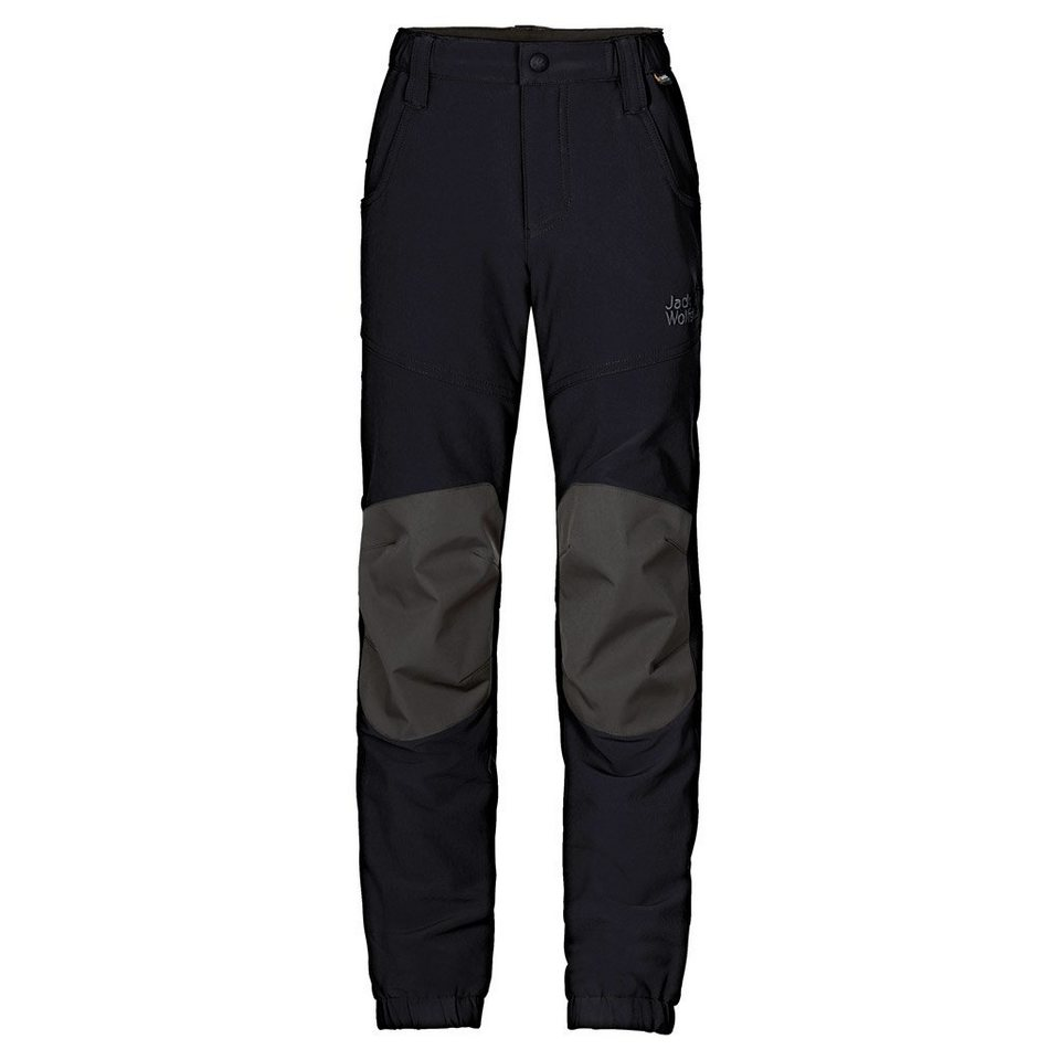 Jack Wolfskin Outdoorhose »RASCAL WINTER PANTS KIDS« in black