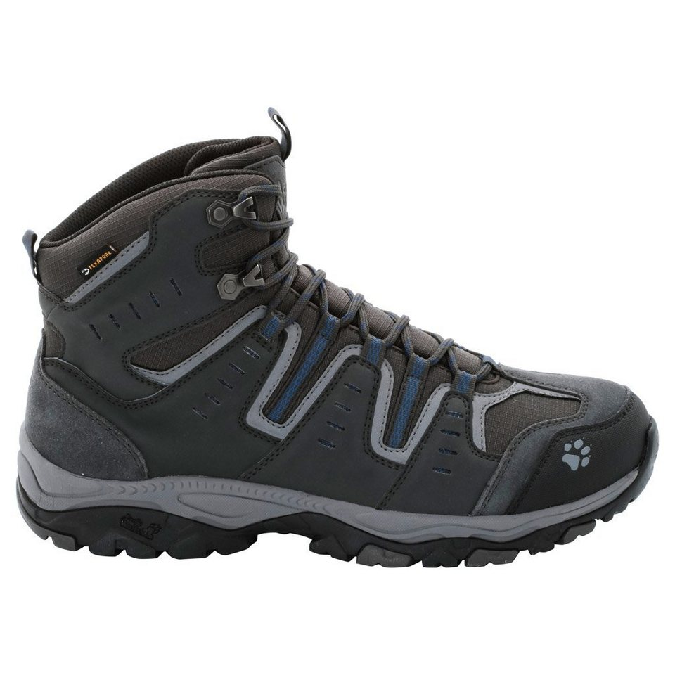 Jack Wolfskin Wanderschuh »MTN STORM TEXAPORE MID M« in moroccan blue