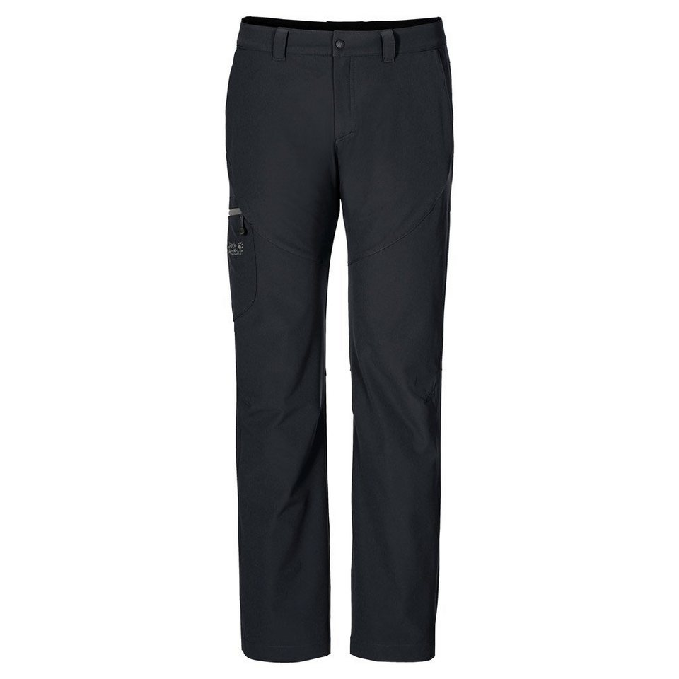 Jack Wolfskin Softshellhose »CHILLY TRACK XT PANTS MEN« in black